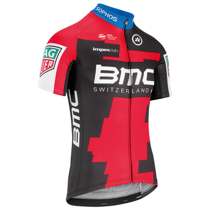 2018 Maillot manches courtes BMC RACING TEAM