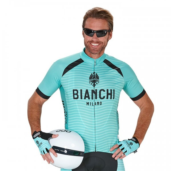 Maillot manches courtes BIANCHI MILANO Meja X5271P1122