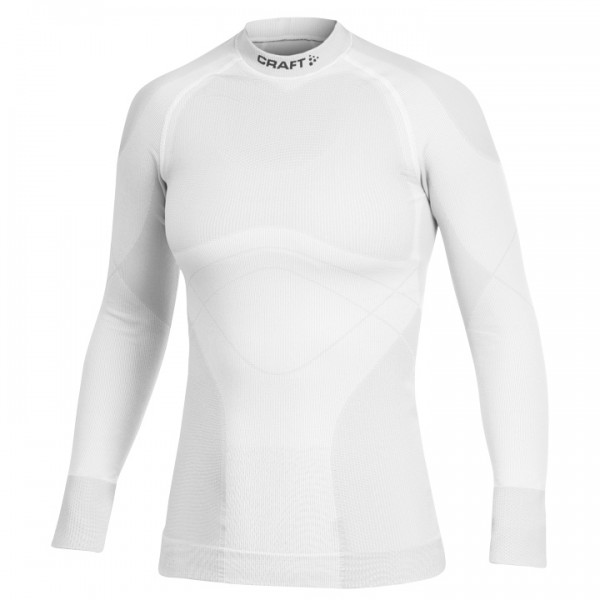 Maillot de corps manches longues CRAFT Keep Warm Crewneck blanc U4707N4045