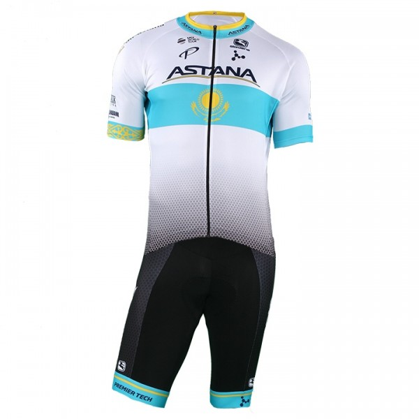 2018 Set (2 pièces) ASTANA PRO TEAM Champion kazakh