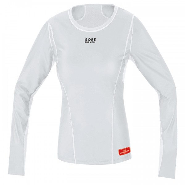 Maillot de corps manches longues GORE Thermo WS gris clair-blanc S0433P9230