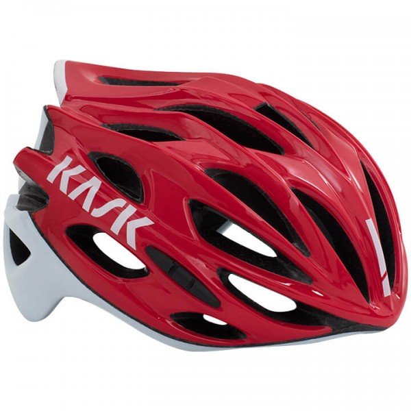 2019 Casque route KASK Mojito X blanc - rouge