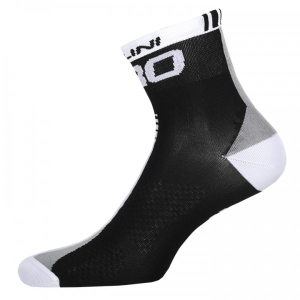 Chaussettes NALINI PRO Pro noires-blanches N1904N2992