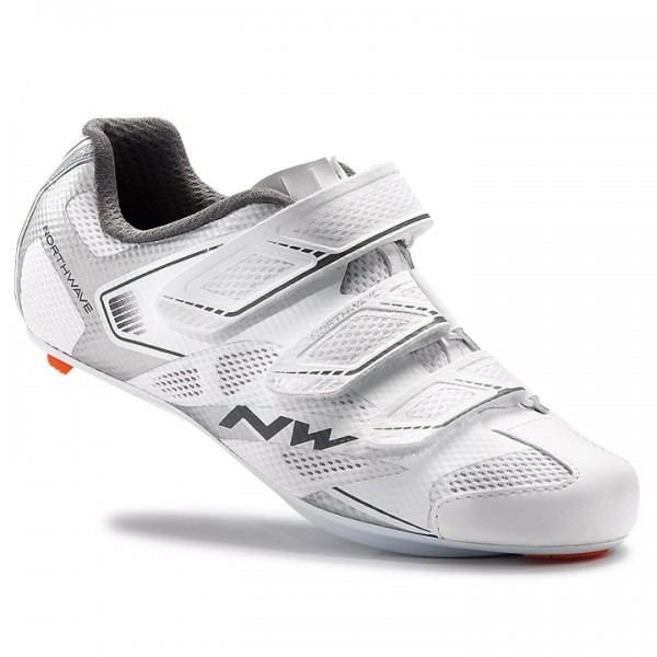 2017 Chaussures route NORTHWAVE Starlight 2 blanc - argentin