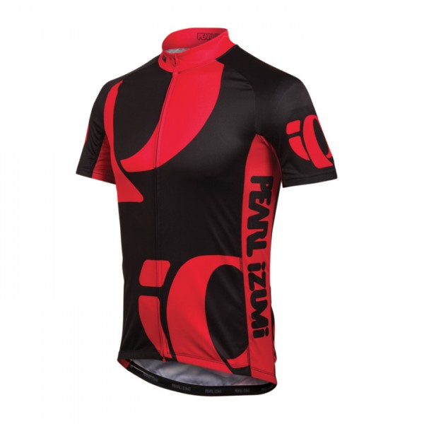 Maillot manches courtes PEARL IZUMI Elite LTD Big IP rouge W6861W2922