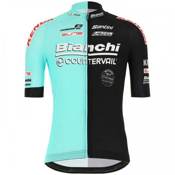 2019 Maillot manches courtes BIANCHI COUNTERVAIL