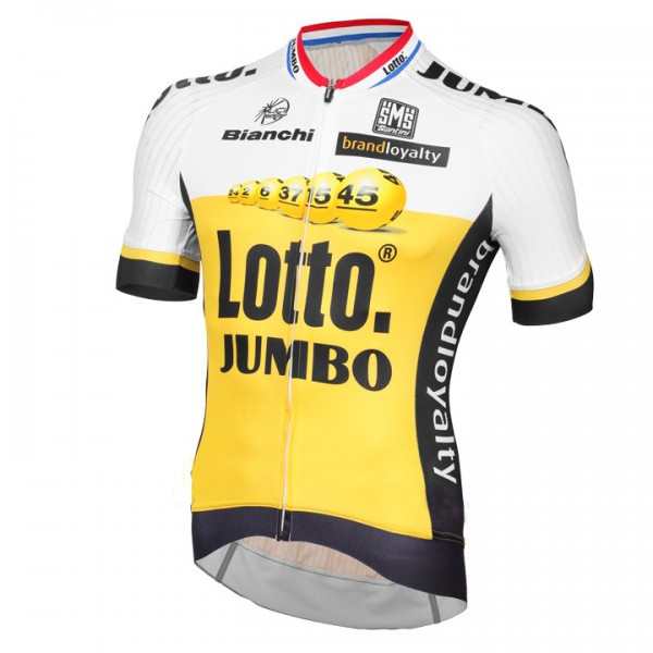 2016 Maillot manches courtes LOTTO NL-JUMBO Aero Race