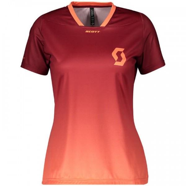 Bikeshirt SCOTT Trail Vertic rouge - orange G2825M5147