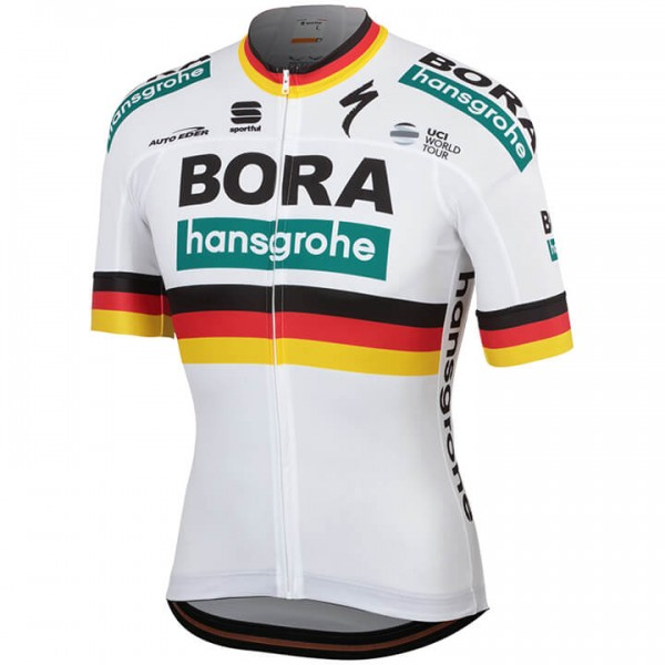 2019 Maillot manches courtes BORA-hansgrohe Champion allemand