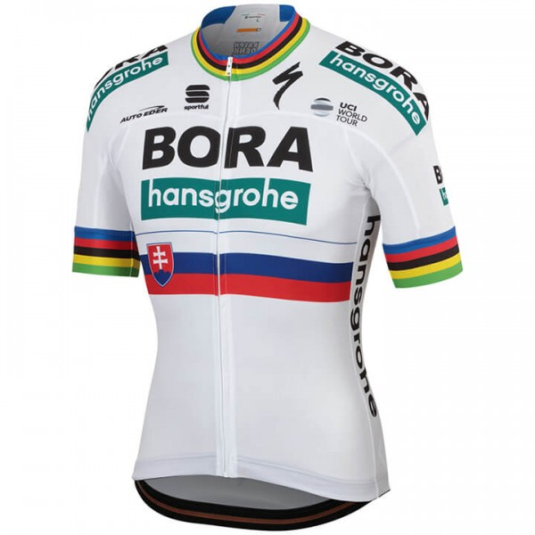 2019 Maillot manches courtes BORA-hansgrohe Champion slovaque