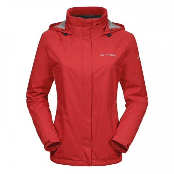 Veste imperméable VAUDE Escape Light rouge F3742I3707