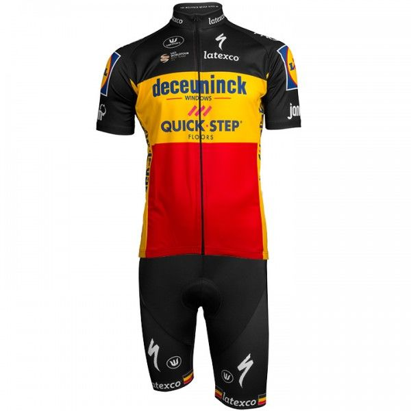 2019 Set (2 pièces) DECEUNINCK-QUICK STEP Champion belge