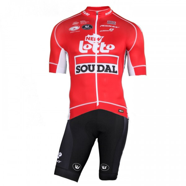 2018 Set (2 pièces) LOTTO SOUDAL Tour de France PRR (2 T.)